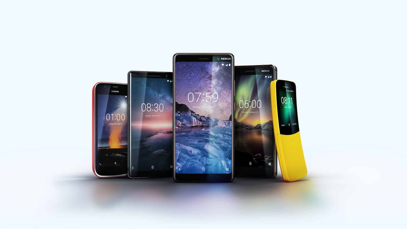 5 New Nokia Smartphones of 2018