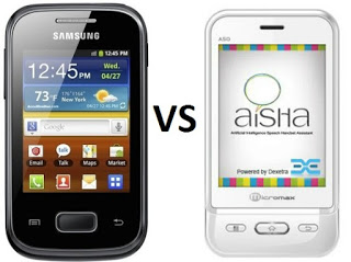 Comparison between Micromax A50 and Samsung Galaxy Pocket ...