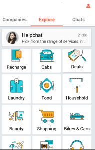 HelpChat Android App